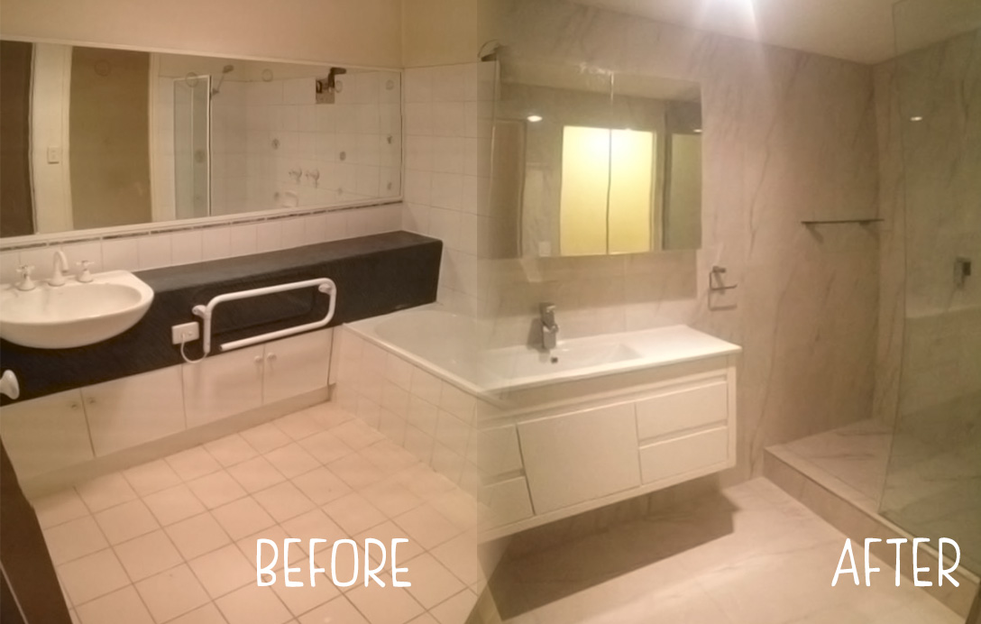 Gallery melbourne bathroom company renovations for Bathroom specialists melbourne